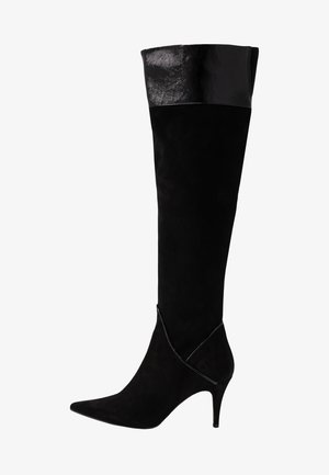 SAMONA - Over-the-knee boots - nero
