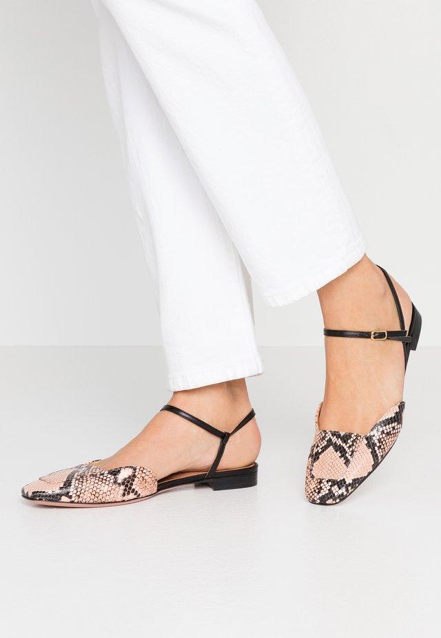 LEA - Slingback ballet pumps - rosa/nero