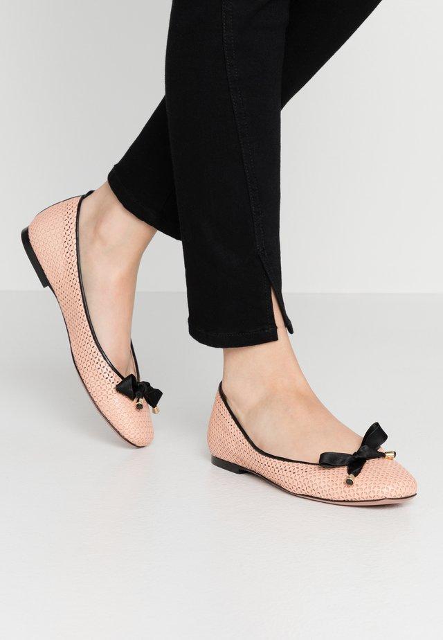 LORENA - Ballerine - petalo pink/black
