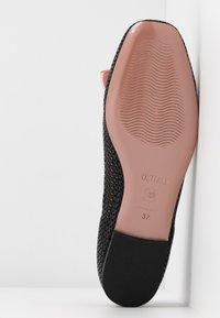 Oxitaly - LORENA - Ballet pumps - black/pink - 6
