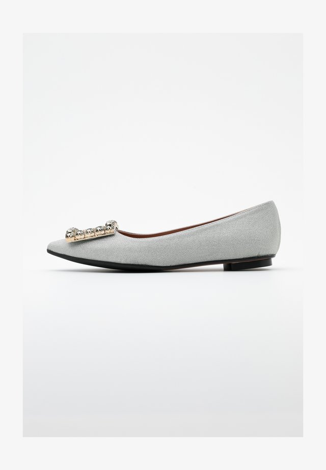 LIA - Ballerinat - glitter platino