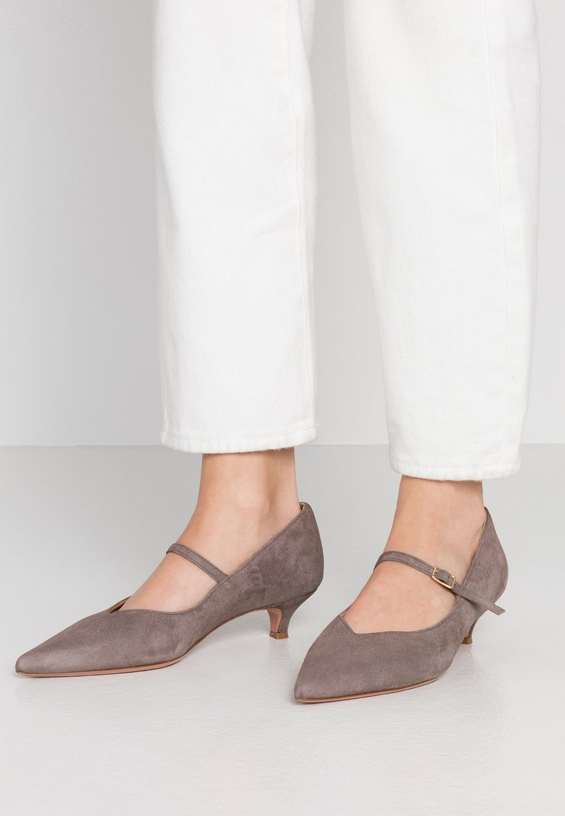 Oxitaly - SAMMY - Classic heels - taupe