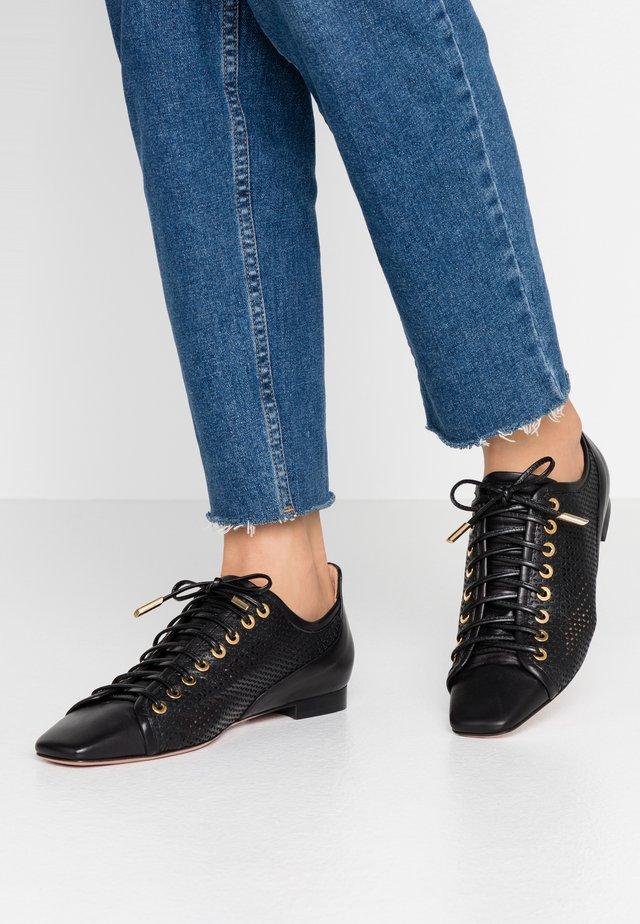 LEA - Šněrovací boty - nero