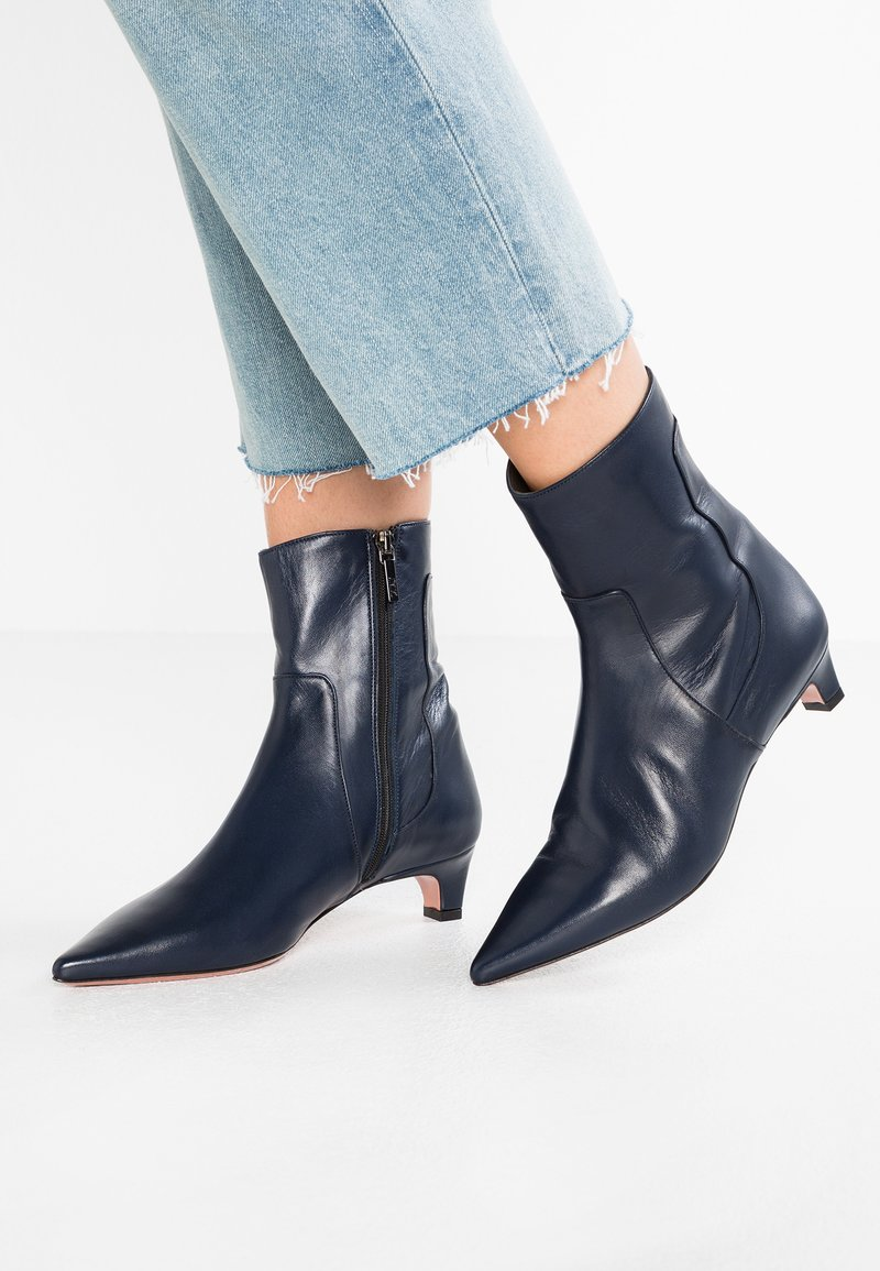 Oxitaly - SANDRA - Classic ankle boots - positano blu