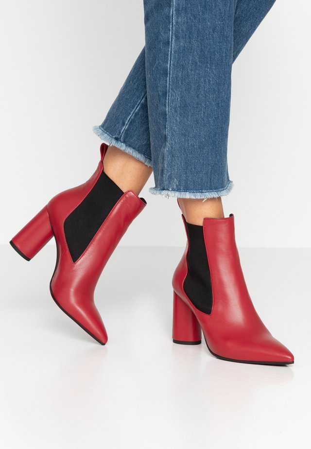 SALOME - High Heel Stiefelette - rosso