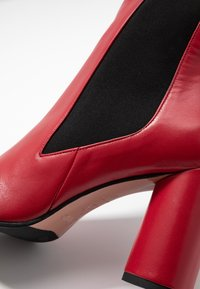 Oxitaly - SALOME - Ankelboots med høye hæler - rosso - 2