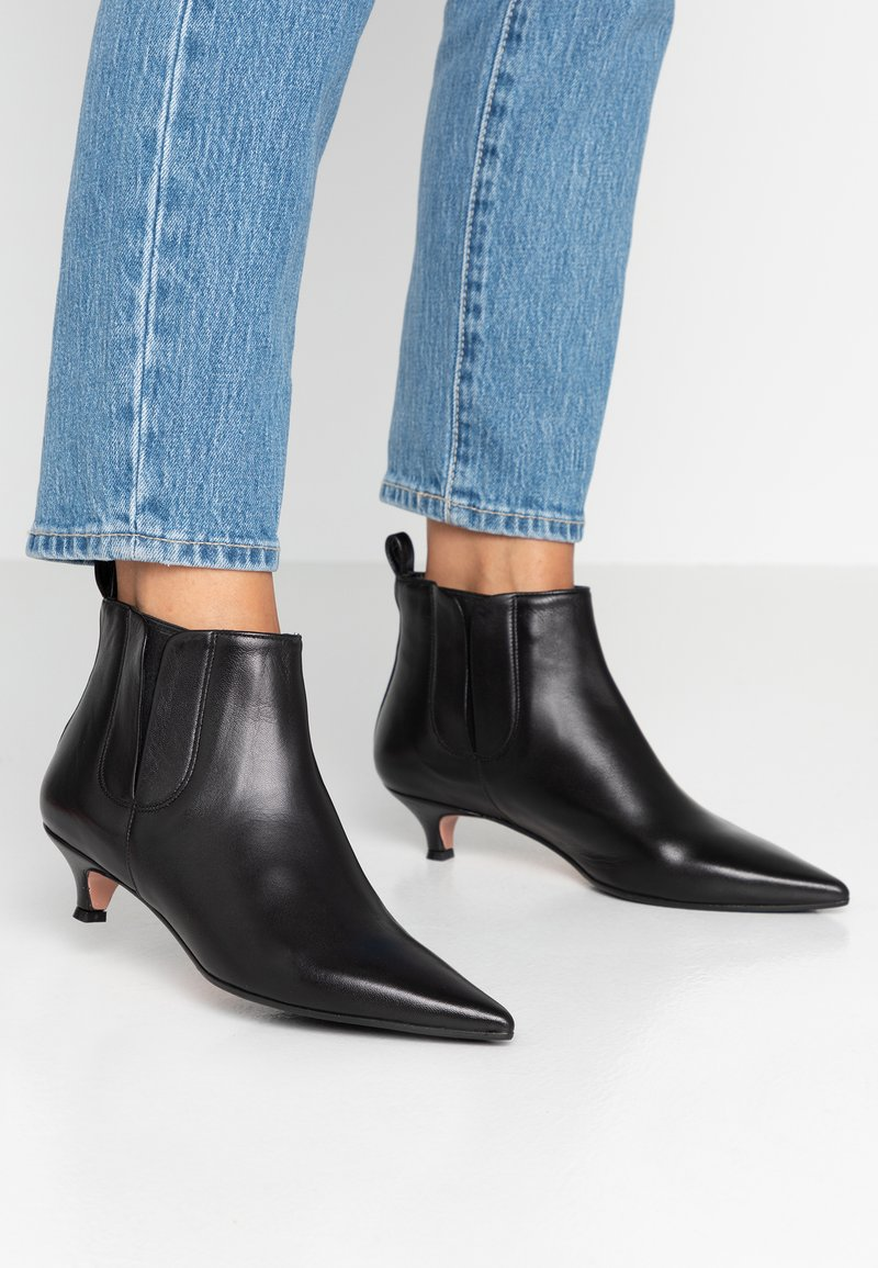 Oxitaly - SAMMY - Ankle Boot - nero
