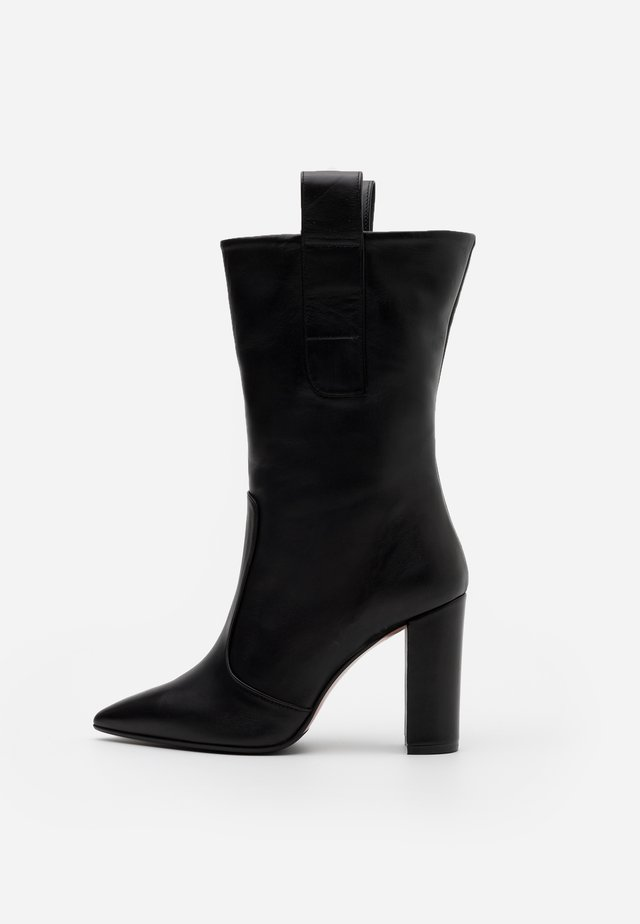 CANDICE - Boots med høye hæler - nero