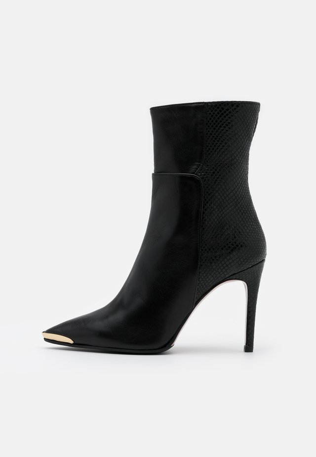 SILLA - High heeled ankle boots - nero