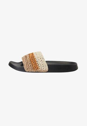 Sandaler - black/beige