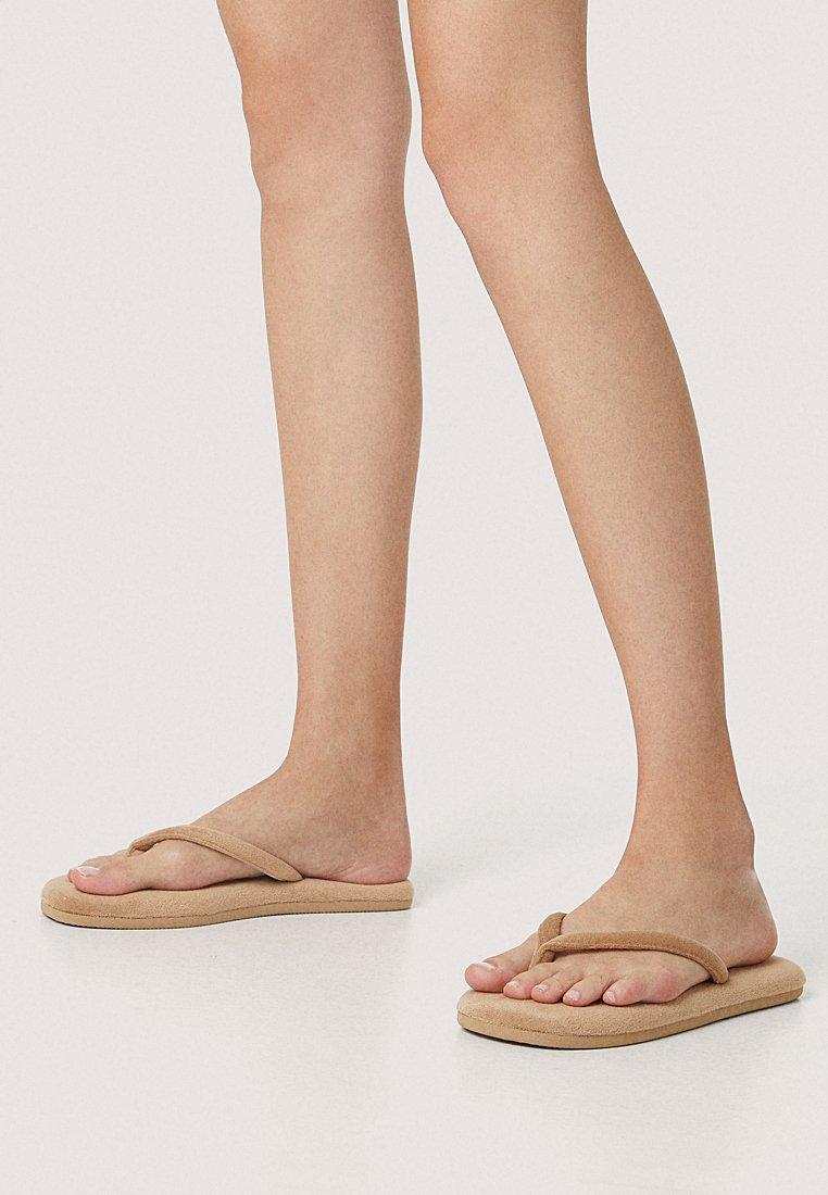 OYSHO - T-bar sandals - beige