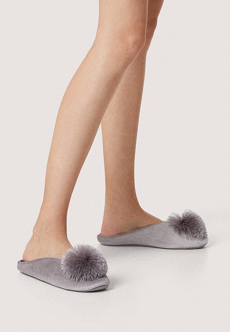 OYSHO - Slippers - dark grey