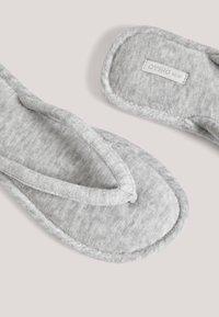 OYSHO - T-bar sandals - grey - 4