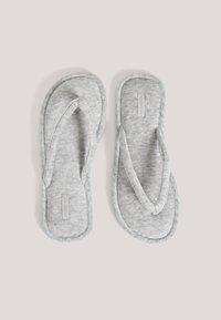 OYSHO - T-bar sandals - grey - 1