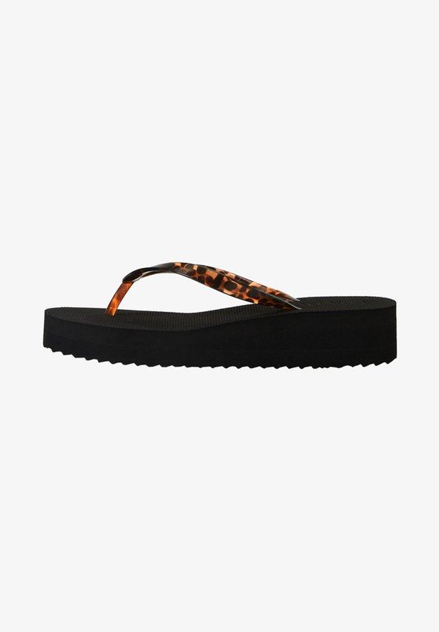 11303680 - Sandaler m/ tåsplit - black