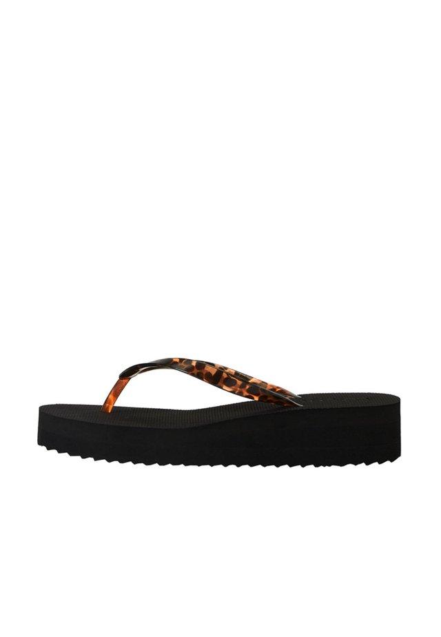 11303680 - Sandály s odděleným palcem - black