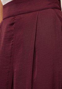 OYSHO - Pantalon classique - bordeaux - 4