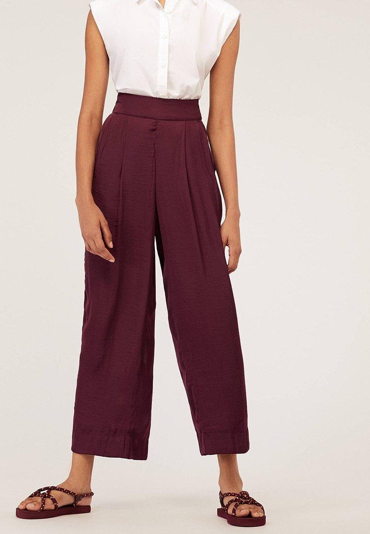 OYSHO - Pantalon classique - bordeaux