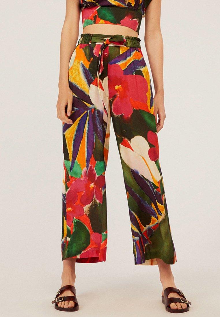 OYSHO - Trousers - multi-coloured