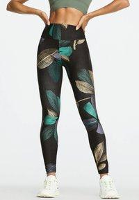 OYSHO_SPORT - Leggings - dark blue - 0