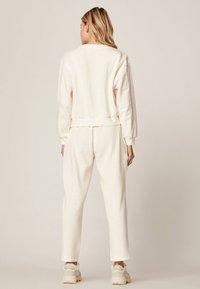 OYSHO - Trousers - white - 1