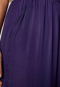 OYSHO - Broek - dark purple - 4