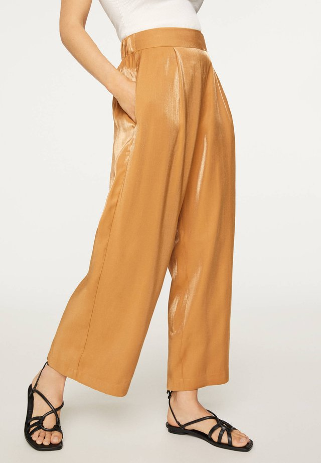 CAMEL CULOTTES 30330115 - Trousers - brown
