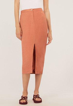 Maxi skirt - orange