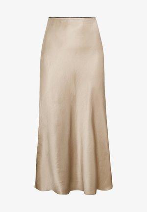 SATINIERTER MIDIROCK 31058138 - A-line skirt - gold