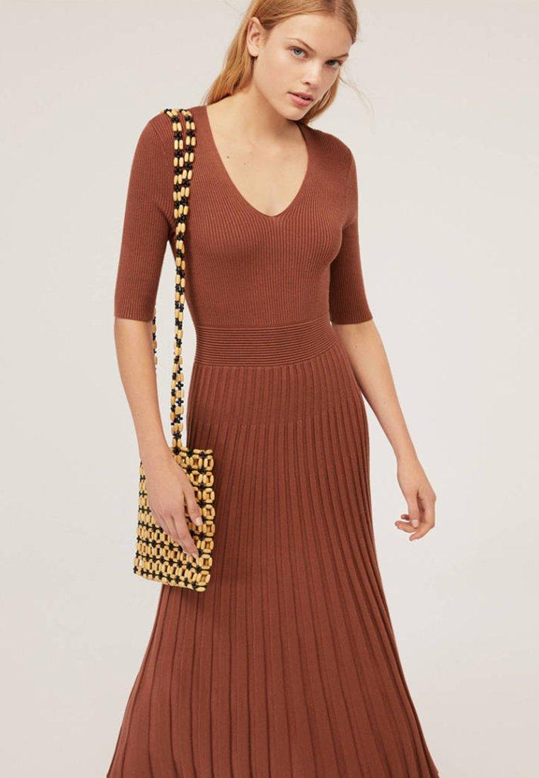 OYSHO - Maxi dress - brown