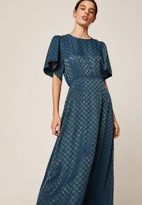 OYSHO - Maxi šaty - dark blue - 3