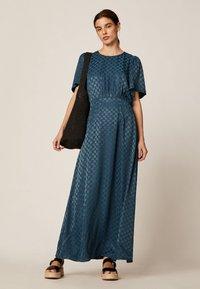 OYSHO - Maxi šaty - dark blue - 0