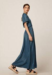 OYSHO - Maxi šaty - dark blue - 1