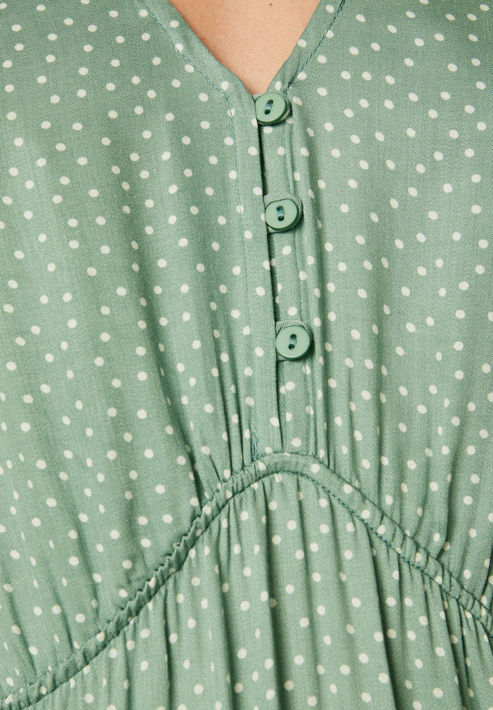 Oysho Mit Punkten - Day Dress Green