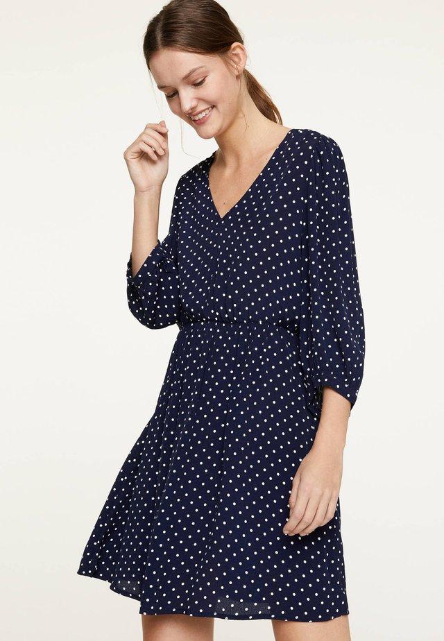 KLEID MIT PÜNKTCHEN 31957115 - Korte jurk - dark blue