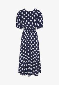 OYSHO - GETUPFTES KLEID 31962115 - Robe d'été - dark blue - 5