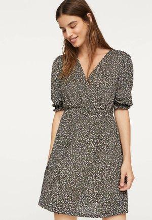 Korte jurk - dark grey