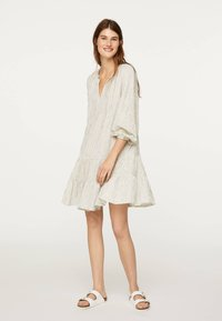 OYSHO - Jersey dress - white - 1