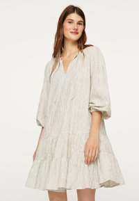 OYSHO - Jersey dress - white - 0
