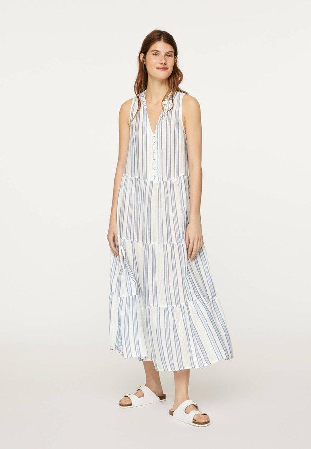 METALLIC  - Korte jurk - white