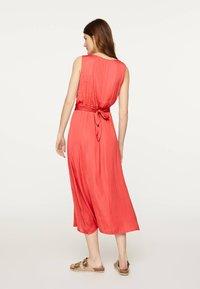 OYSHO - Denní šaty - red - 2