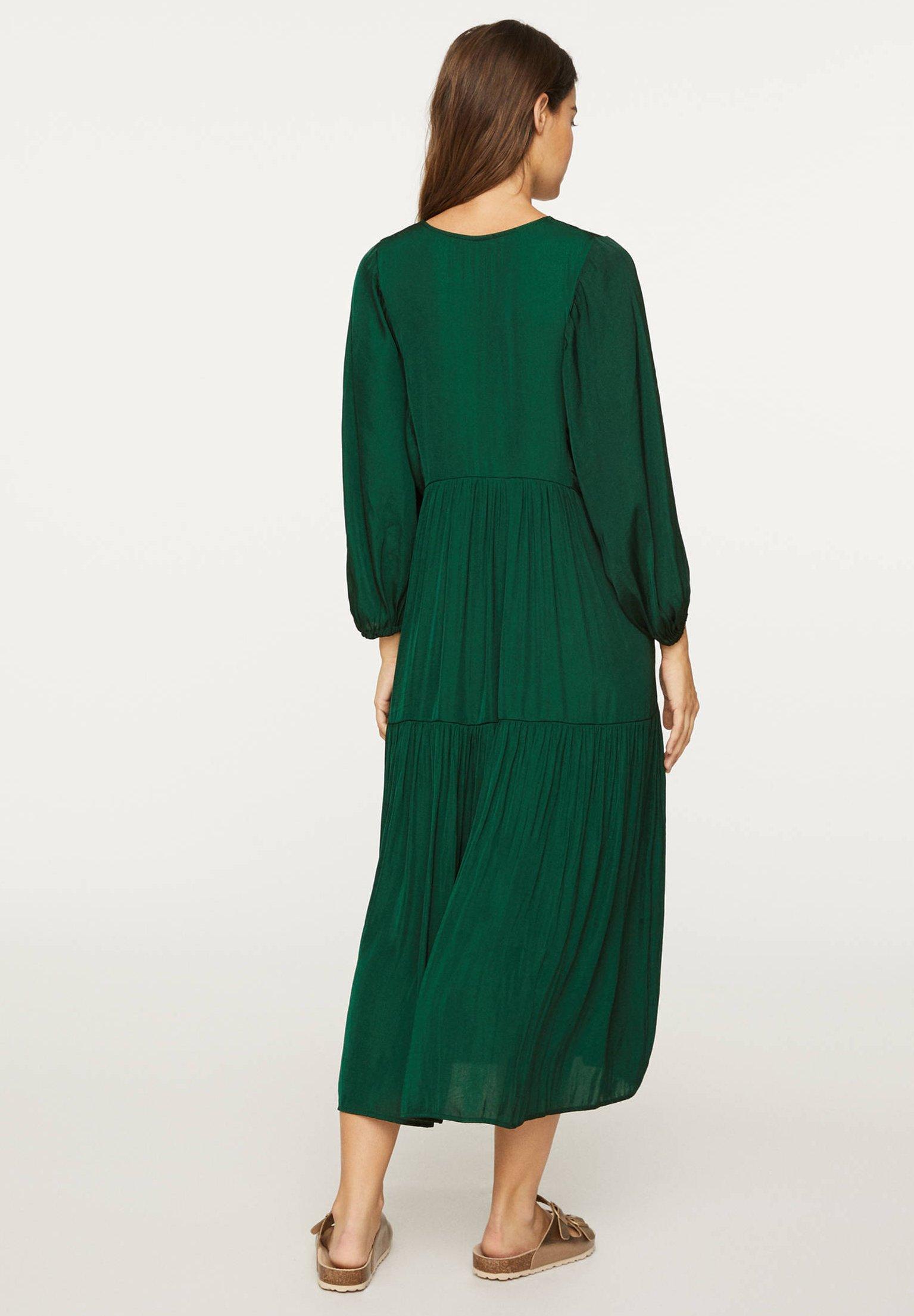 OVERSIZE Korte jurk evergreen