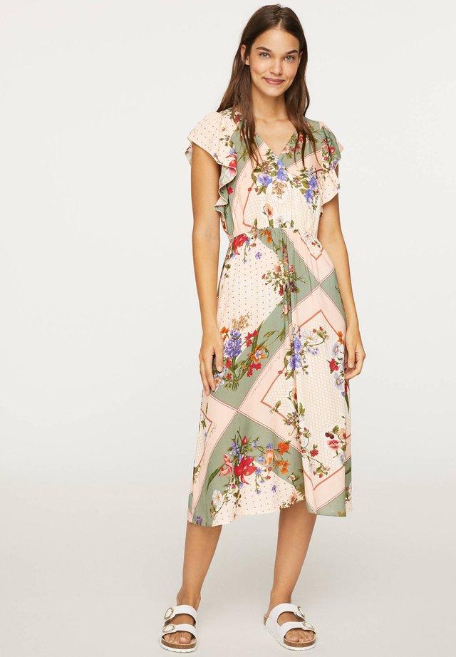 Długa sukienka - multi-coloured