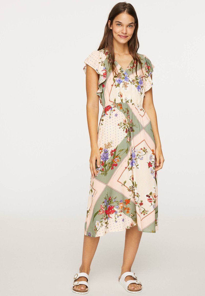 OYSHO - Maxi-jurk - multi-coloured