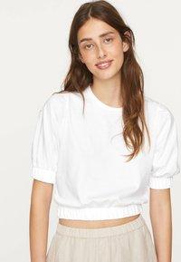 OYSHO - T-shirt basic - white - 0