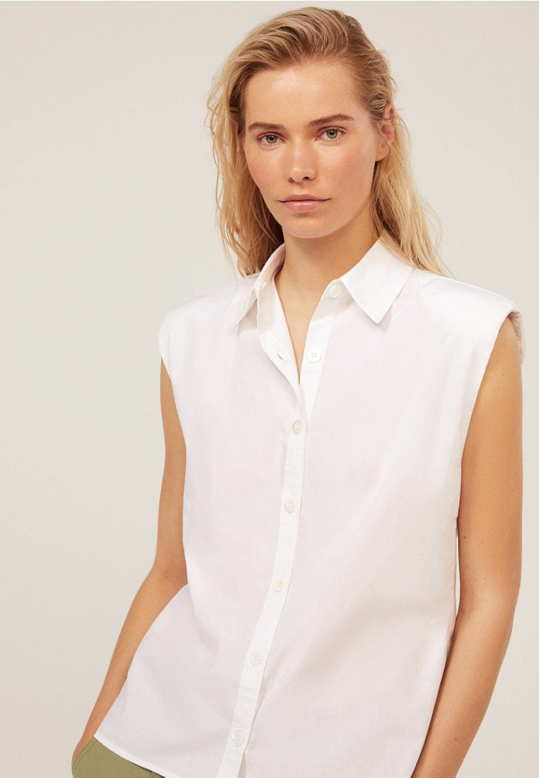 OYSHO - Hemdbluse - white