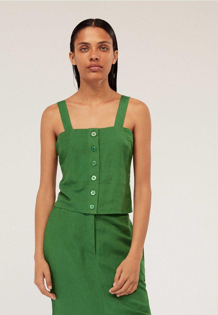 OYSHO - JOIN LIFE - Skjortebluser - evergreen