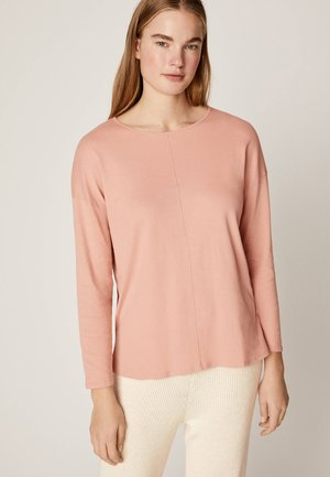 Langærmede T-shirts - rose