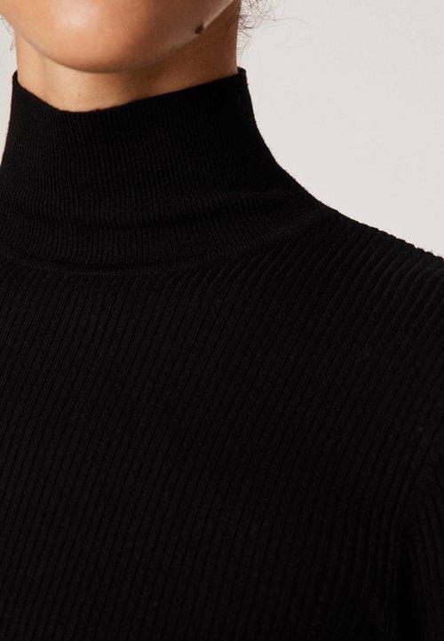 Stała usługa OYSHO Sweter - black Odzież Damska DWBJ-KV5