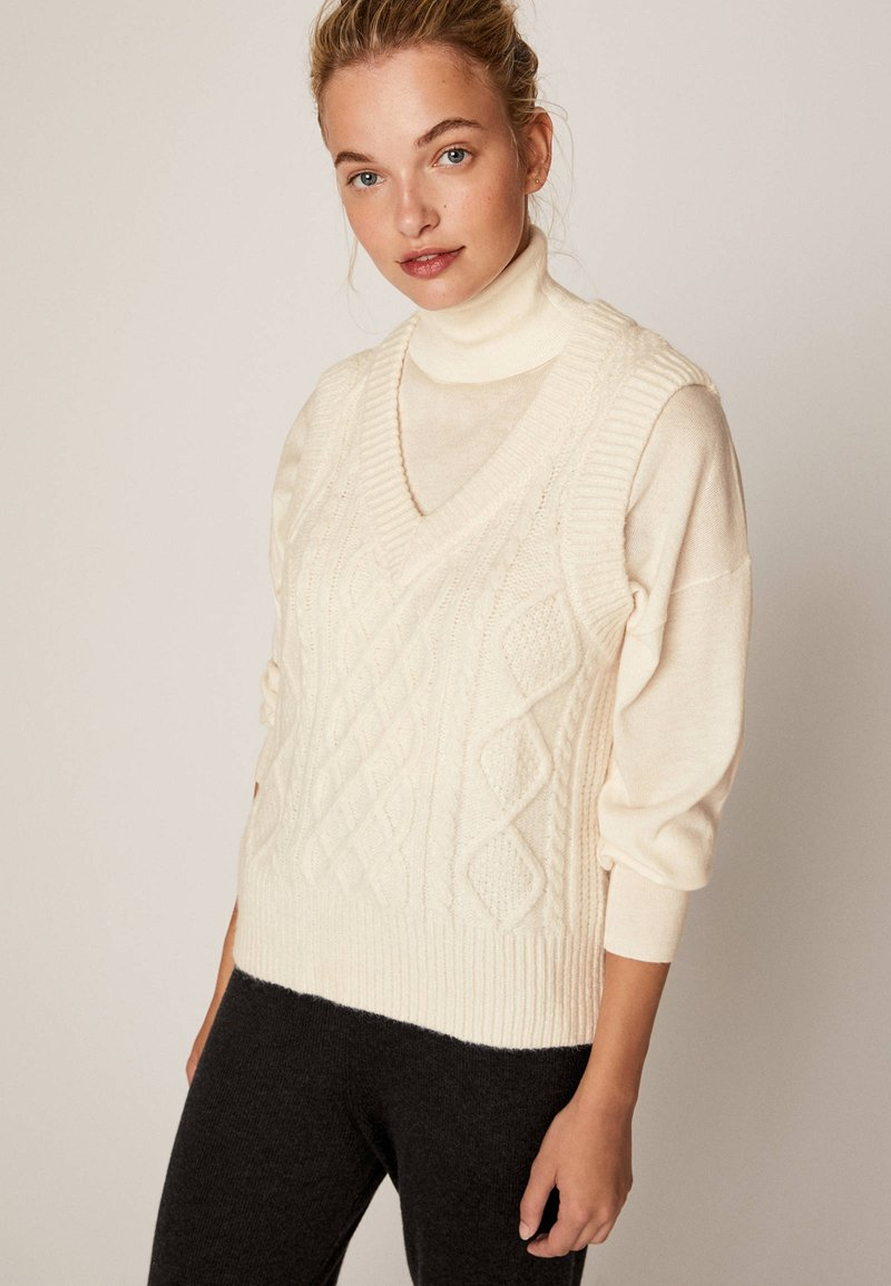OYSHO - Jumper - white